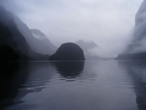 Early morning in Doubtful Sound