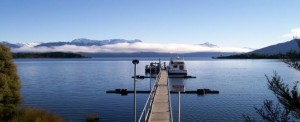 Lake Te Anau jetty